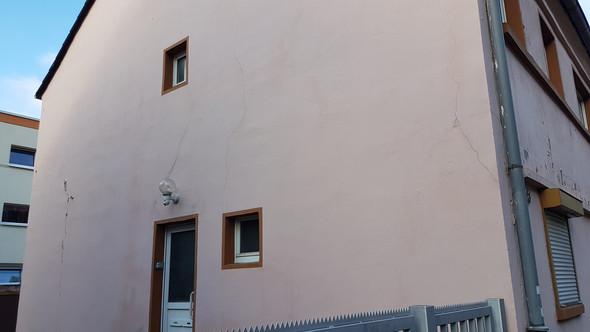 Wasserschaden an Außenwand vom Haus? (Computer)
