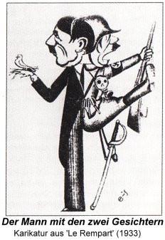 Was will der Karikaturist uns sagen? (Geschichte, Karikatur)