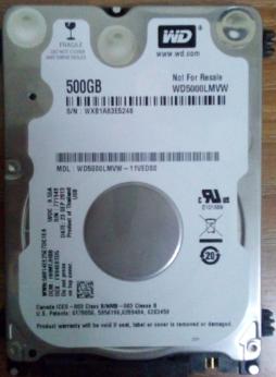 FP Ohne Gehäuse - (Festplatte, externe Festplatte, WD)
