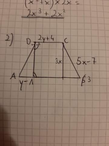 Wdie berechne ich den Umfang des Trapezes?