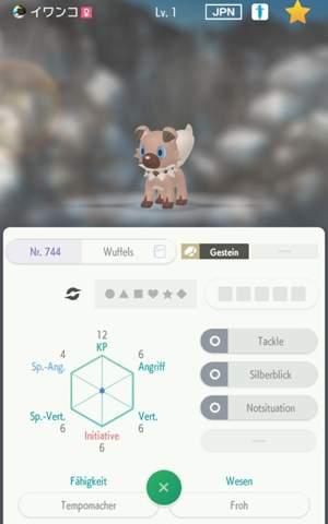 We bekommt mein wolwerock die Fähigkeit krallenwucht (pokemon schwert)?