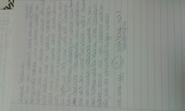 An schreiben lehrerin brief entschuldigung die Beispiele für