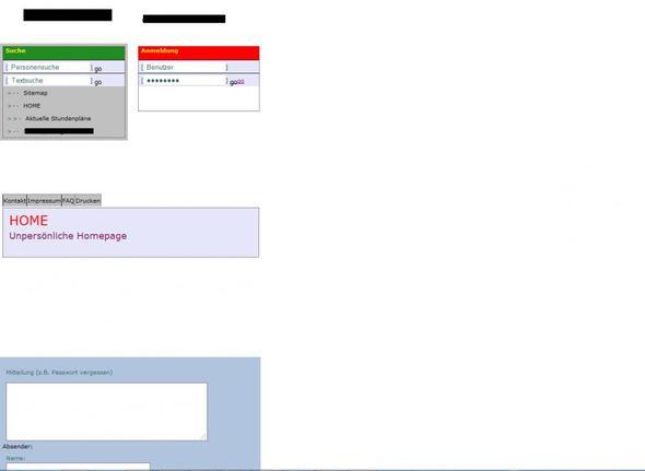 so sieht sie aus - (html, CSS)
