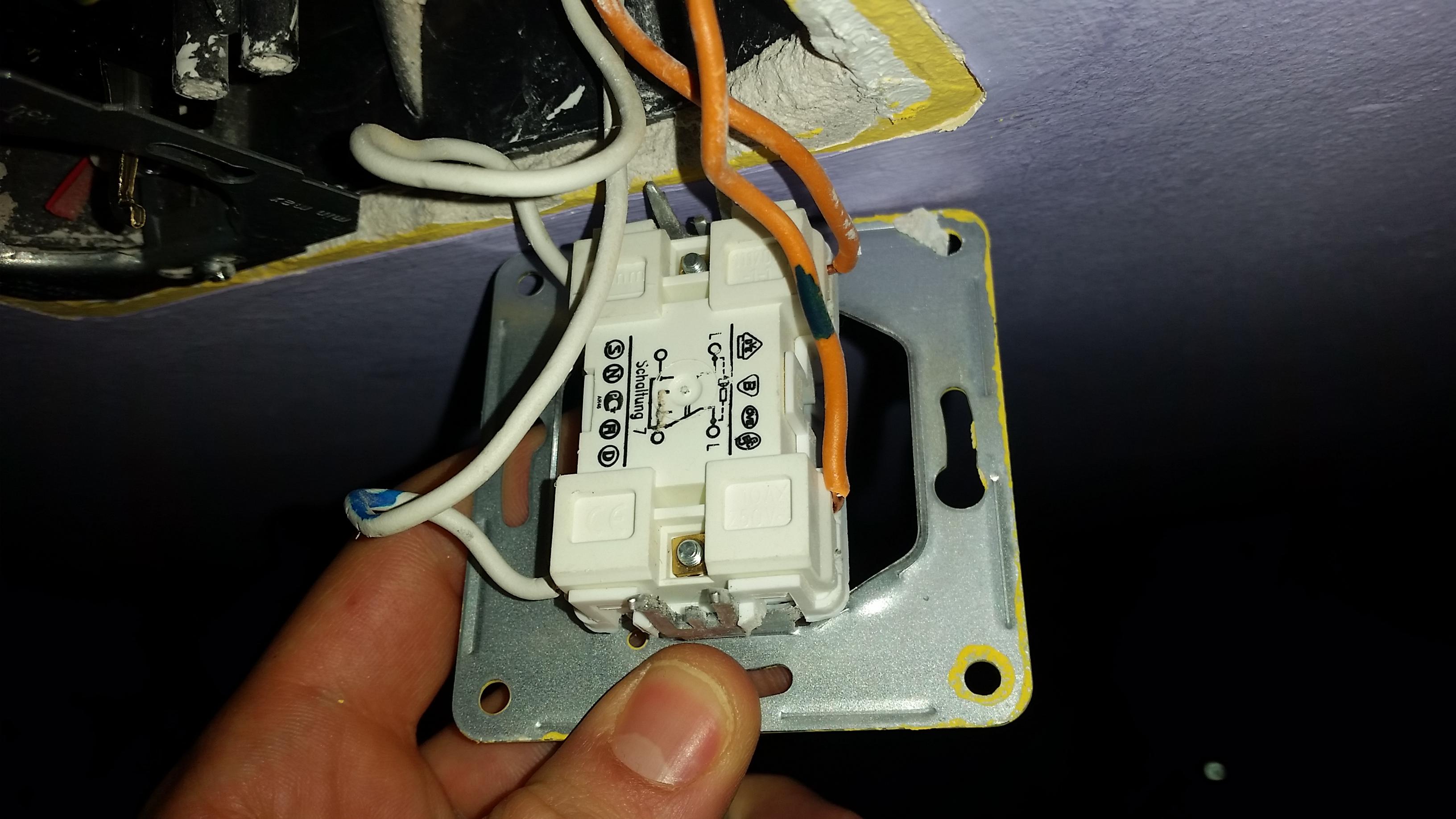 wechselschalter tauschen (elektrik, lichtschalter)