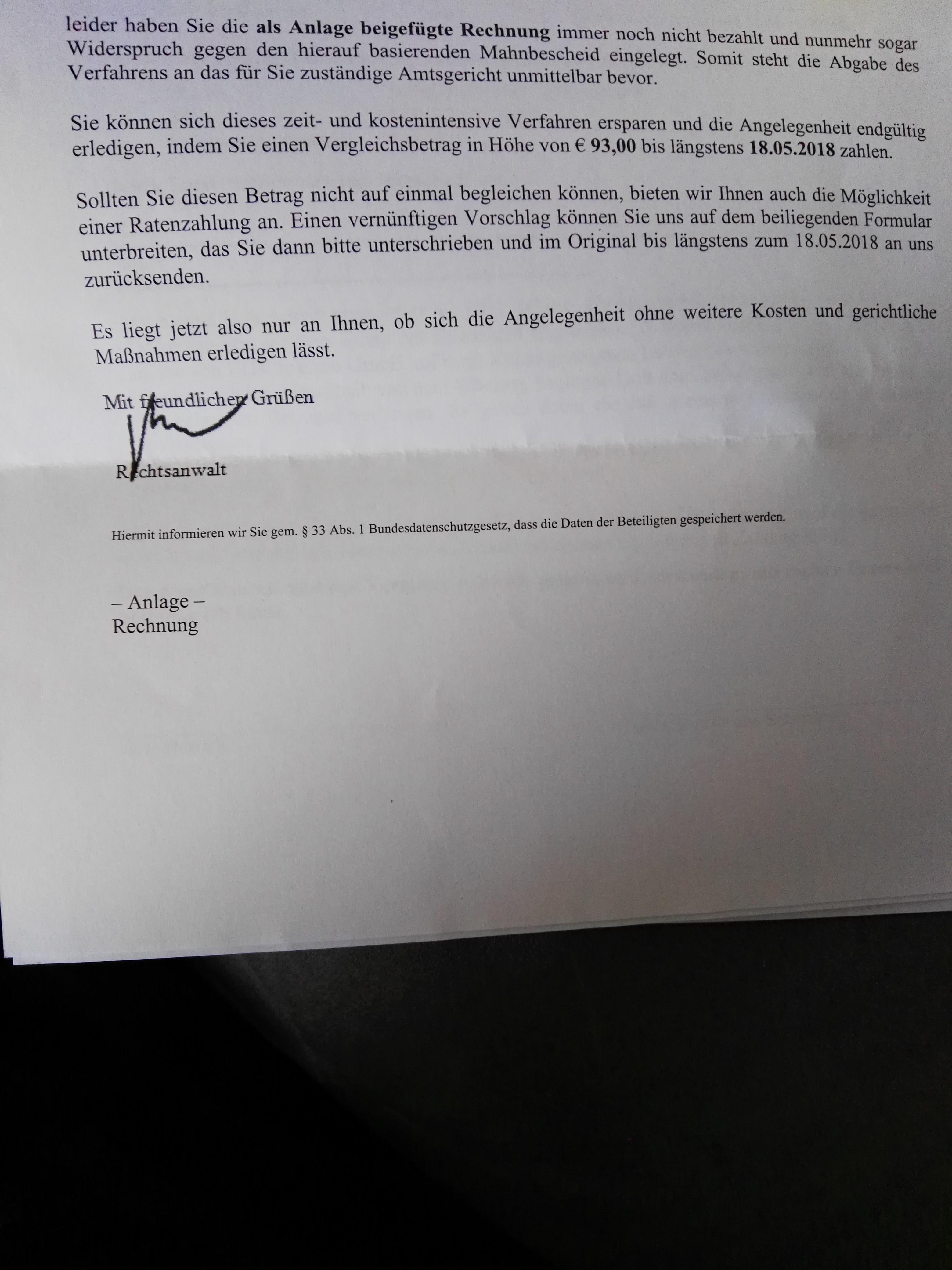 Wegen Ugv Inkasso Anwalt Nehmen Recht