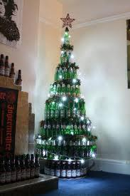 Flaschen weihnachtsbaum gestell