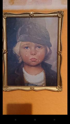 Kind bild bragolin weinendes Grenzschutz in