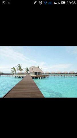 bungalow im meer - (Strand, Ort)