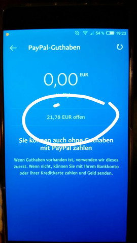 - (Geld, PayPal, Bedeutung)