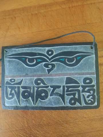 Weis jemand was dieses Sanskrit auf deutsch heißt?