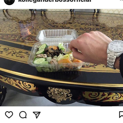 Hier sieht man die uhr - (Uhr, kollegah, luxus)