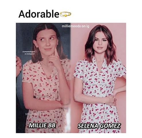 - (Kleid, Selena Gomez)