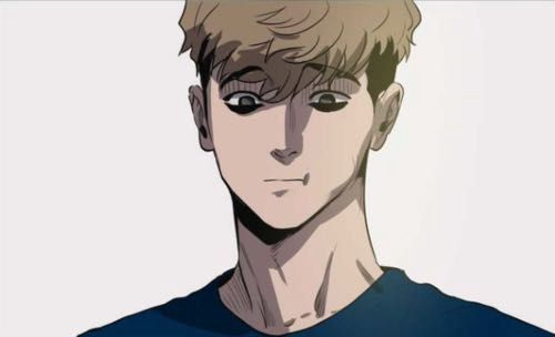 Ich weiß nur, dass er Sangwoo heißt.. - (Anime, Manga, Japan)