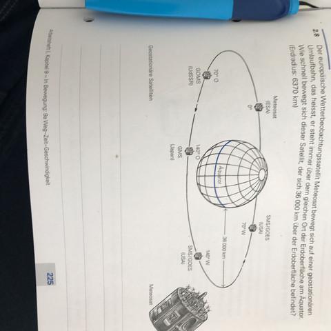 Hier das Bild - (Mathematik, Geschwindigkeit, Meteosat)