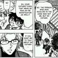 Detektiv Conan Manga Ausschnitt
