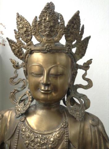 Weiss Jemand Evtl Wie Ich Den Grunspan Vom Buddha Entfernen Kann