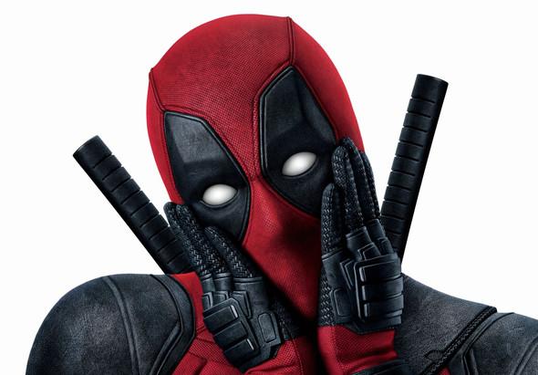 Aus welchem Stoff ist die Deadpool Maske aus dem Film? (Comic, nähen)