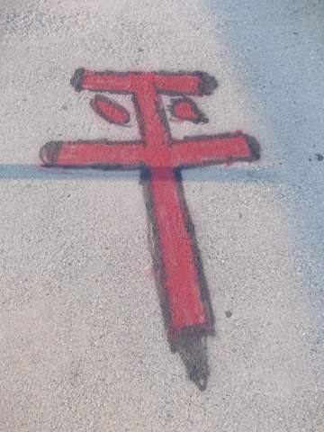 Weiß jemand was das Symbol /Botschaft siehe Bild unten ist?