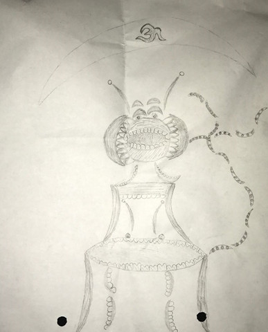 Das ist diese Zeichnung - (Zeichnung, Bleistift)