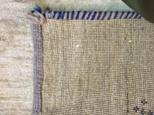 Unterseite - (Teppich, Wollteppich)