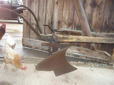 Pferdewendepflug - (Landwirtschaft, Bauernhof)