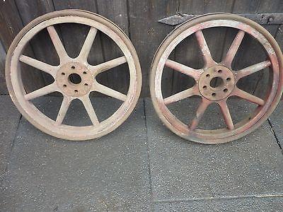 Mit Holzspeichen - (Auto und Motorrad, Oldtimer, holzrad)