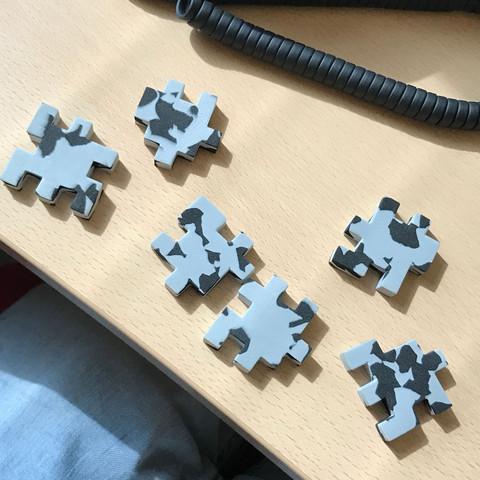 Würfel puzzle - (basteln, Würfel)