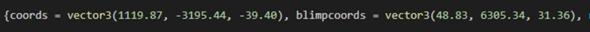 Weiß jemand wie ich diese Koordinaten herrausfinde in GTA5?