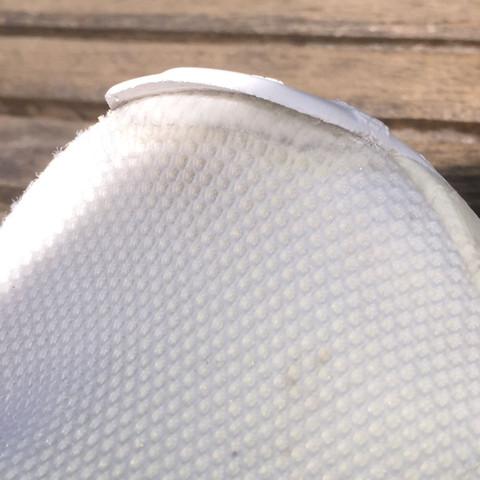 Das Gummiteil des vorderen schuhes geht ab hat einer eine Idee es zu befestigen - (Schuhe, Gummi, Nmd)