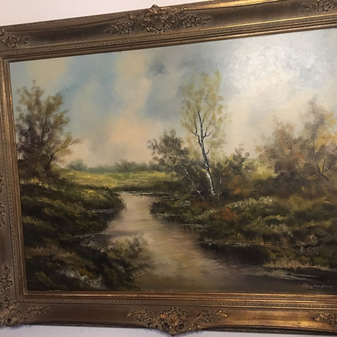 Weiß jemand, wie viel Wert dieses Gemälde besitzt?