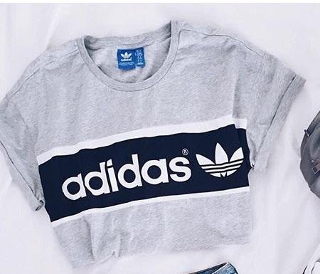 adidas t-shirt damen kurz