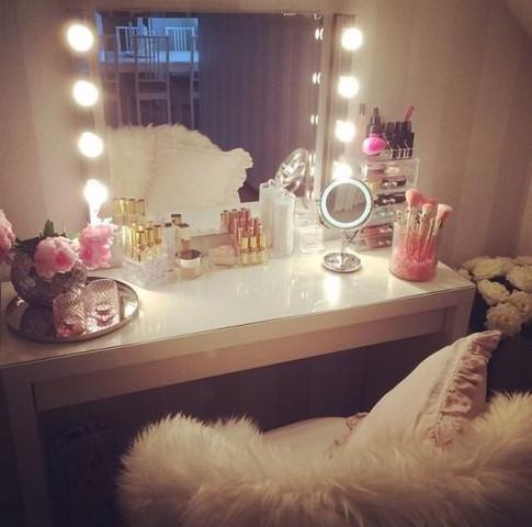 Schminktisch - (shoppen, Make-Up, Möbel)