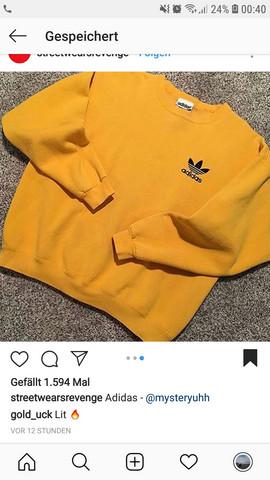 Weiss jemand wo ich diesen Pullover finden kann (Adidas Vintage Gelb)?