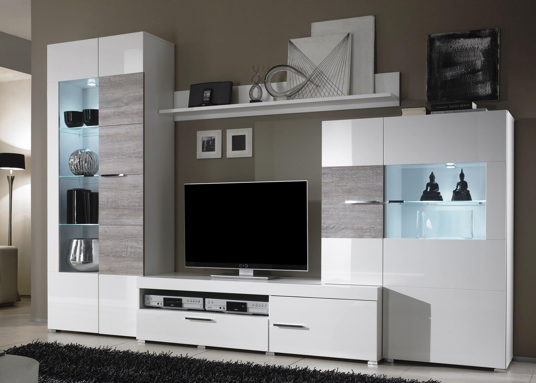 Wohnwand mit viel stauraum elegant khles deko wohnwand home und interior design wohnwand wei - Wohnwand phantom ...