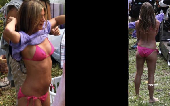 aniston bikini jennifer bild