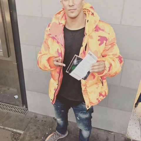 Jacke (Farid Bang, Instagram) - (Kleidung, Jacke, winterjacke)