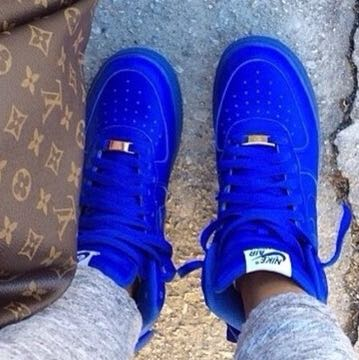 Nike Air Force Blau Damen