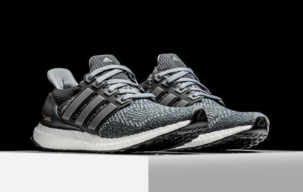 ultra boost adidas schwarz grau