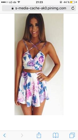 Gesuchte Kleid - (Fashion, Two piece dress)