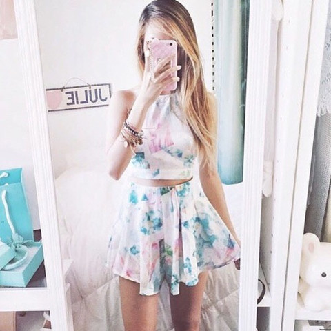Ähnliches - (Fashion, Two piece dress)