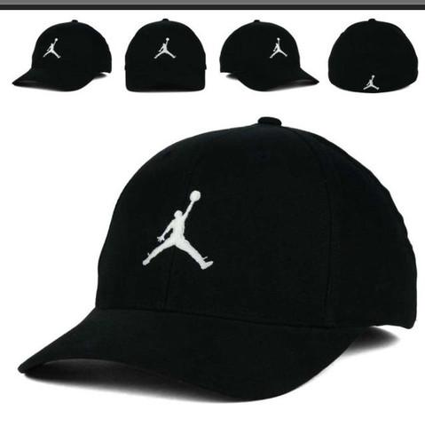 Jordan Flexfit cap in schwarz weiss - (Bestellen, Cap, Jordan)