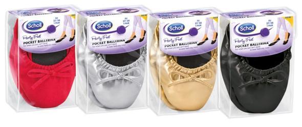 Pocket Ballerinas von Scholl - (Kleidung, Schuhe, Online-Shop)