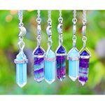 Kristallhalsketten - (Kette, Kristall, Halskette)