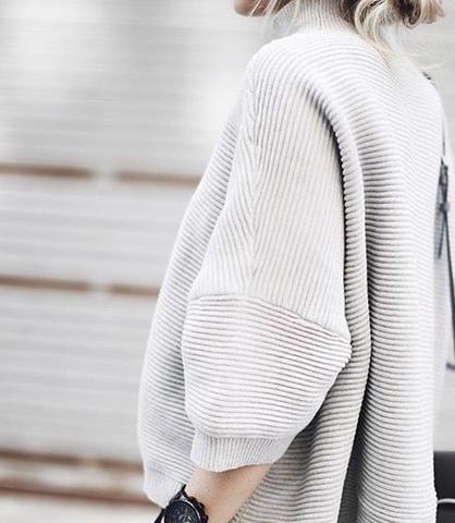 Pulli - (Mode, Pullover, Beige)