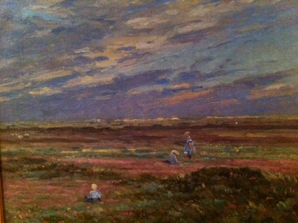 Kinder in den Dünen - (Kunst, Maler)