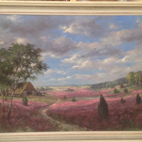 Weiß jmd, was ein Gemälde von Franz Weber (1933) Wert sein könnte? Wer könnte an so was int sein?