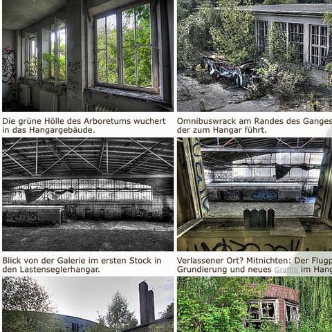 Weiß jmd was über diese alte halle (Hanger)  am Flugplatz Bonames in Frankfurt?