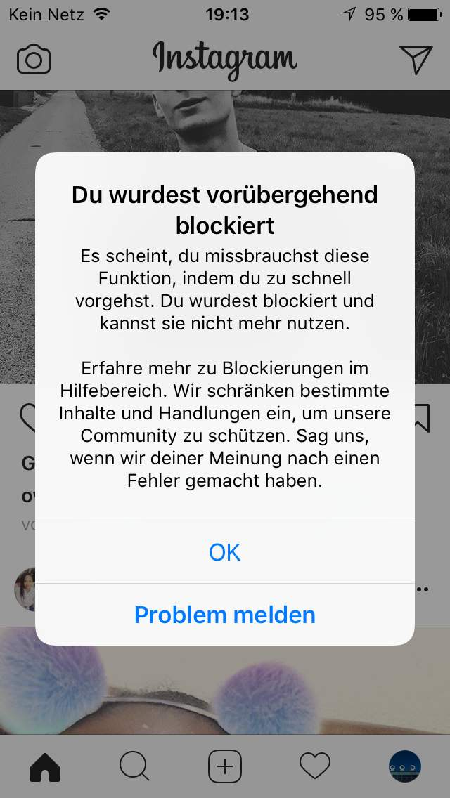 Badoo profil wurde blockiert