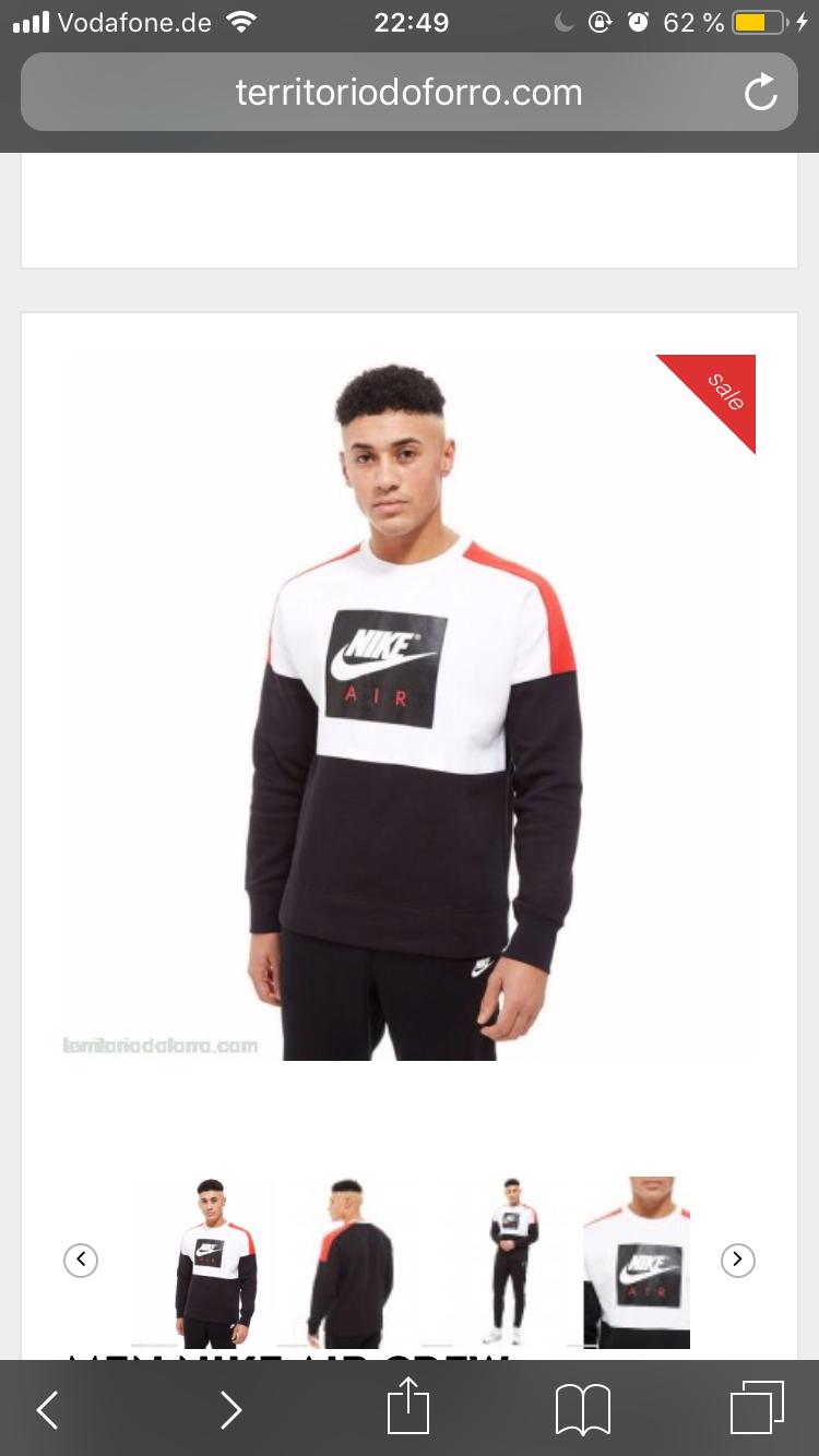Weiß jmd wo dieser Nike Hoodie erhältlich ist? (Kleidung)