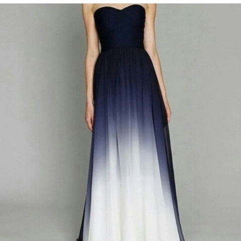 Ombre-Kleid  - (Kleid, Shopping, Ombre)